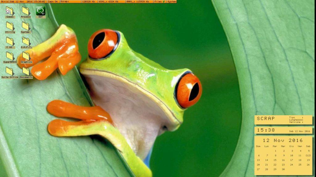 Black PHoenix - Frog Theme